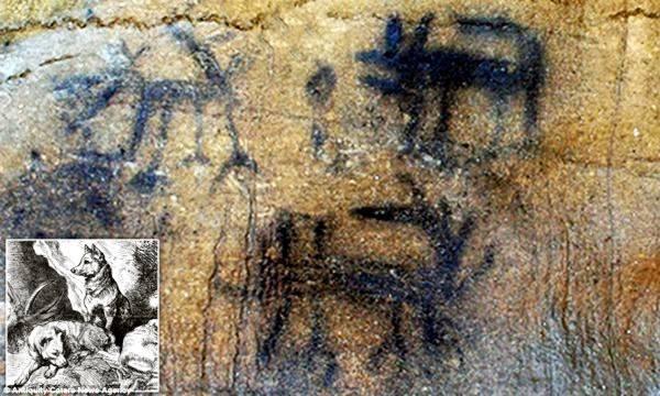 I pittogrammi più antichi mai ritrovati nel continente nordamericano
