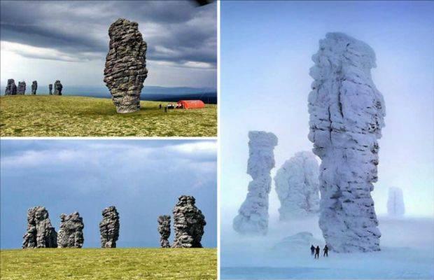 Le formazioni rocciose Manpupuner