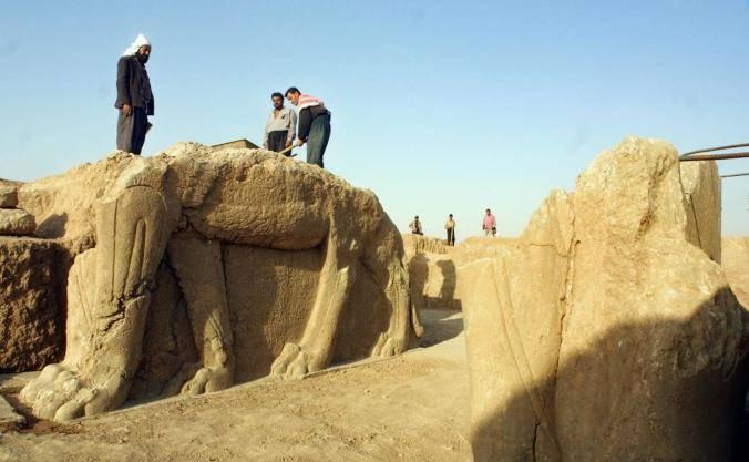 Le milizie del Califfato e lo scempio delle antiche città assire